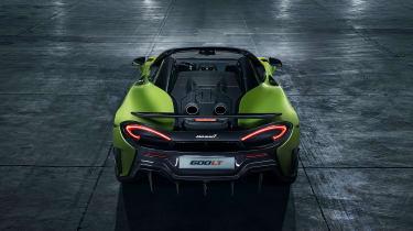 McLaren 600LT Spider rear