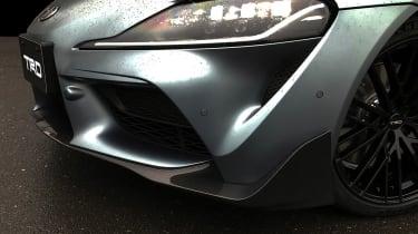 Toyota Supra TRD parts - headlights