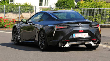 Lexus LC F prototype - rear quarter