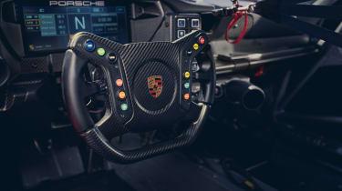 992 Porsche 911 GT3 Cup interior
