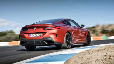 BMW M850i coupe review - rear quarter