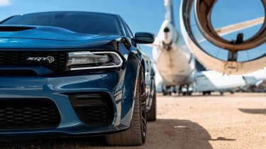 Dodge Charger SRT Hellcat Widebody front close