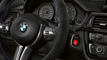 BMW M3 CS  – steering wheel