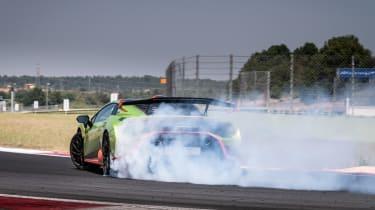 Lamborghini Huracan STO (International) – rear quarter action2