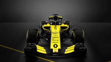 Renault 2018 car - front