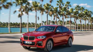 BMW X4 M40d - front