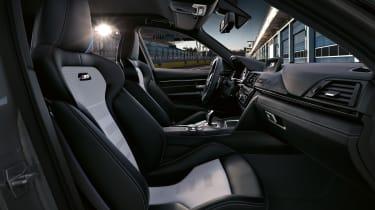 BMW M3 CS  – front seats