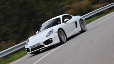2013 Porsche Cayman S white