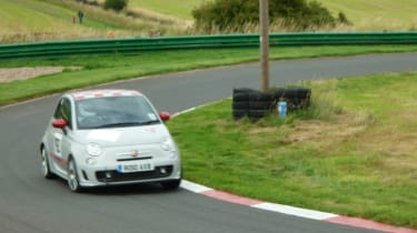 Abarth 500 Esseesse at Harewood Hillclimb
