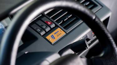Renault Clio Williams - interior