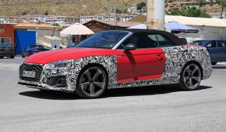 Audi S5 TDI Spy - quarter