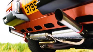 Lamborghini Silhouette - Exhaust