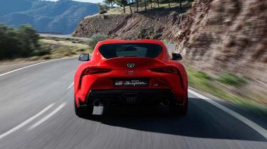 Toyota Supra - rear