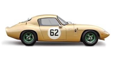 IWR Lotus Elan Coupe - profile