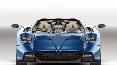 Huayra roadster front