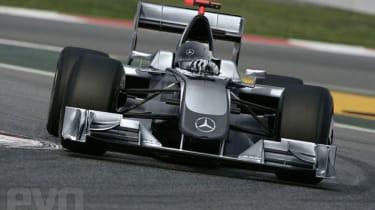 Mercedes Motorsport F1 car