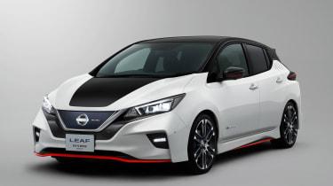 Nissan Leaf Nismo concept officials front quarter
