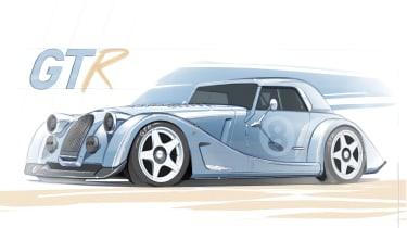 Morgan Plus 8 GTR front