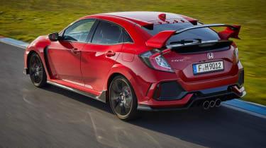 Honda Civic Type R - rear tracking