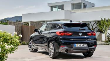 BMW X2 M35i - rear quarter