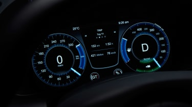 Aston Martin Rapide E - dials