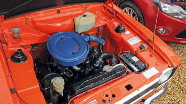Ford Escort Mexico – engine