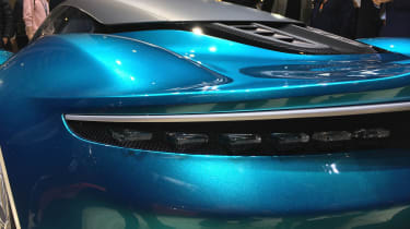 Aston Martin Vanquish Vision concept live - rear light