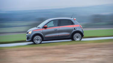 Renault Twingo GT side profile