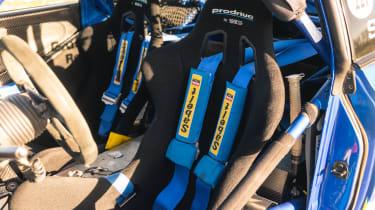 Subaru Impreza S6 WRC – seats