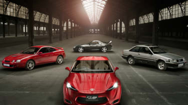 Toyota FT-86 meets the family