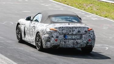 2018 BMW Z4 spotted - Rear