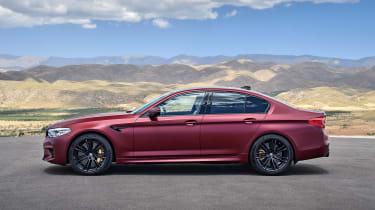 BMW M5 F90 - Plum matte profile