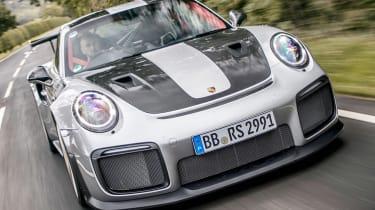 Porsche 911 GT2 RS - front driving