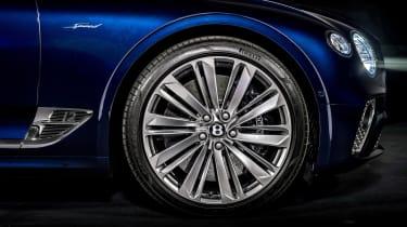 Bentley Continental GT Convertible Speed – wheel