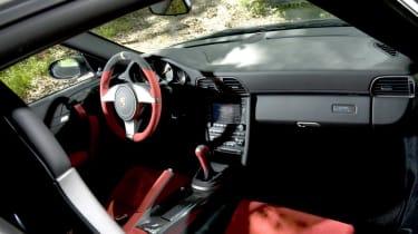 Porsche 911 GT2 RS cabin