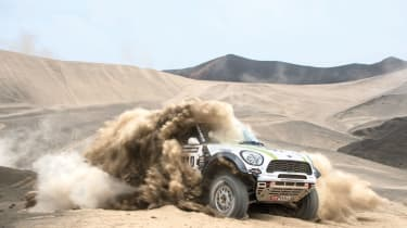 MINI on the Dakar rally