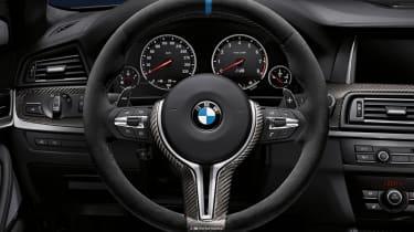 BMW M6 steering wheel upgrade