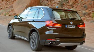 New 2013 BMW X5 brown rear