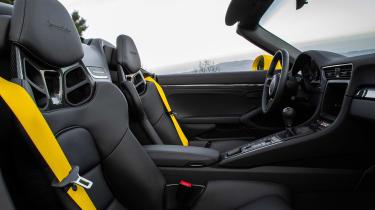 991.2 Porsche 911 Speedster - cabon