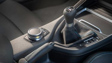 BMW M2 Competition vs Toyota GR Supra - shifter