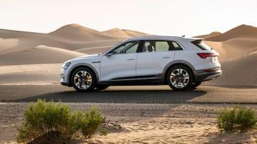 Audi e-tron 2019 side