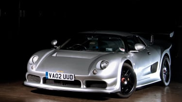 Noble M12 GTO front silver