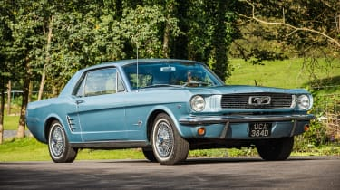 1966 Ford Mustang 289 notchback