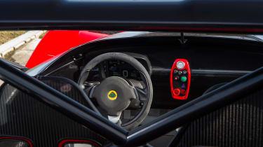 Lotus 3-Eleven – steering wheel