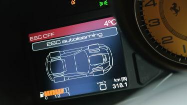 Ferrari F12 digital display
