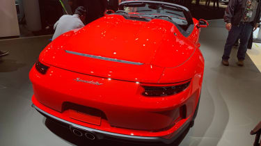 Porsche 911 Speedster rear]
