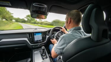 Volvo XC60 - James Disdale driving