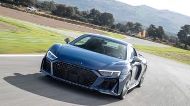 Audi R8 facelift review - nose