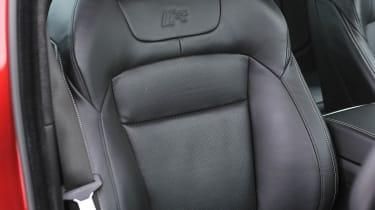 2013 Jaguar XFR Speed Pack driver's sports seat