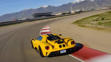 Ford GT - rear cornering